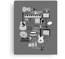 Music Things Canvas Print