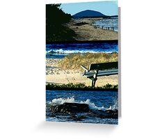 Coastal Layout Greeting Card