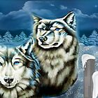 Wolfs Winter Wonder Land by ArtChances