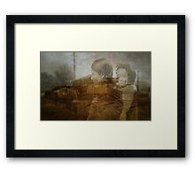 Past Progress Framed Print