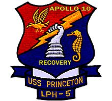 USS Princeton (LPH-5) Recovery of Apollo 10 Photographic Print