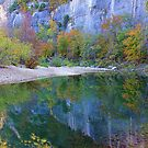 Autumn on Steel Creek,  Buffalo National River by NatureGreeting Cards ©ccwri