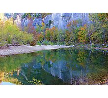 Autumn on Steel Creek,  Buffalo National River Photographic Print