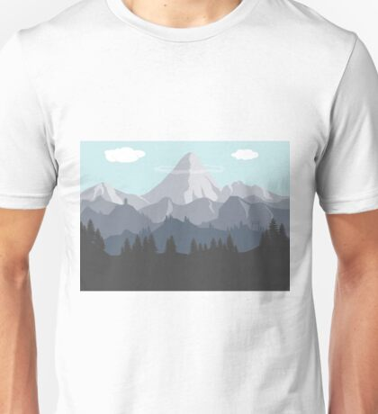 Flat Landscape Unisex T-Shirt