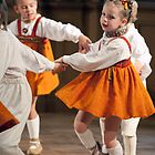 Riga's children's dance ensemble Dzintarinš by Mark Prior
