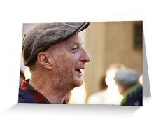 Occupy LSX ~ Billy Bragg Greeting Card