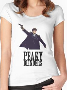 Peaky Blinders Murphy Women's Fitted Scoop T-Shirt