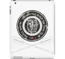 Hobbit Rafting club iPad Case/Skin