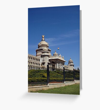 Vidhana Soudha; Bangaluru; Karnataka; India Greeting Card