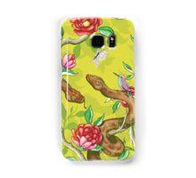 Morning Song - mustard Samsung Galaxy Case/Skin