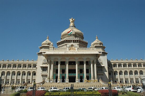Vidhana Soudha, Bangaluru by AravindTeki