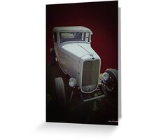 1932 Coupe Greeting Card