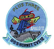 CVS-12 USS Hornet Apollo 11 Recovery Patch 2 Photographic Print