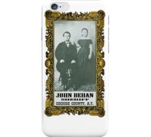 Sheriff John Behan  iPhone Case/Skin