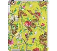 Morning Song - mustard iPad Case/Skin