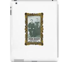 Sheriff John Behan  iPad Case/Skin