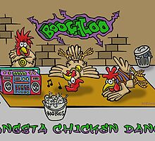 GANGSTA CHICKEN DANCE by NHR CARTOONS .