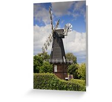 Windmill - Kent, UK. Greeting Card
