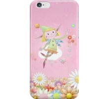 Flower Fairy iPhone Case/Skin