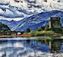 Eilean Donan The Castle (Best view large) by jim sloan