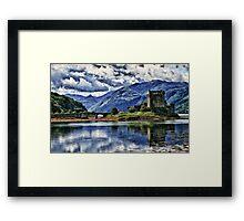 Eilean Donan The Castle (Best view large) Framed Print