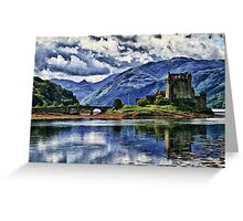 Eilean Donan The Castle (Best view large) Greeting Card