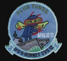 CVS-12 USS Hornet Apollo 11 Recovery Patch 2 Kids Clothes