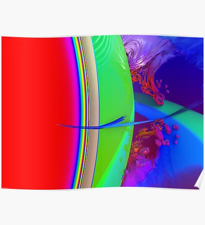 Orbital View Poster