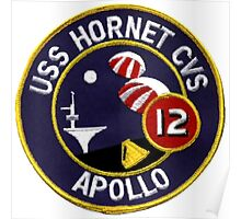 USS Hornet CVS-12, Recovery of Apollo 12 Poster
