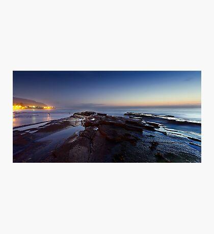 Rocks by Moonlight Photographic Print