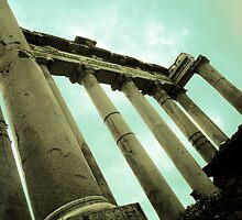 Columns of Forum ruin by Tyler69