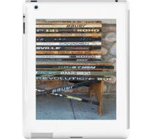 Ice Hockey sticks iPad Case/Skin