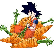 Goku and his vegetables by CarCatchers1