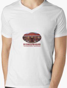 Big Nose Kate's Saloon Mens V-Neck T-Shirt
