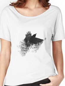 The Black Crow Women's Relaxed Fit T-Shirt