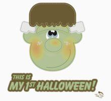 My 1st Halloween Cute Monster Kids Clothes