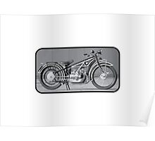 BMW R32 MOTORCYCLE Poster