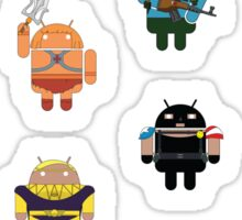DroidArmy: Maclac Squadron (Mini Stickers) Sticker