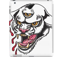 White Panther iPad Case/Skin