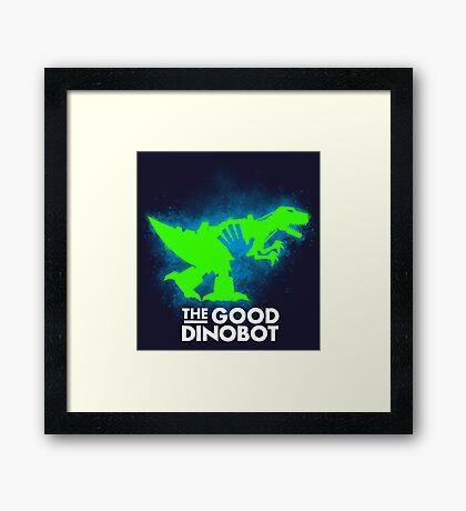 The Good Dinobot Framed Print
