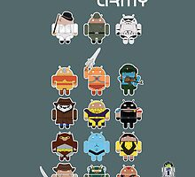 DroidArmy: Maclac Squadron (ironic iPhone case) by Malc Foy