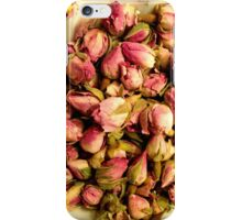 Rose Buds in a Bowl iPhone Case/Skin