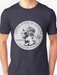 WASHINGTON-QUARTER DOLLAR Unisex T-Shirt