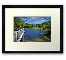 Bear River, Nova Scotia, Canada Framed Print