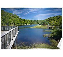 Bear River, Nova Scotia, Canada Poster