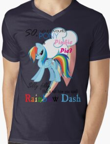 Best pony Mens V-Neck T-Shirt
