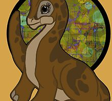 Little foot, Land before time by Cheezwiz