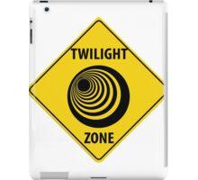 Twilight Zone Street Sign iPad Case/Skin
