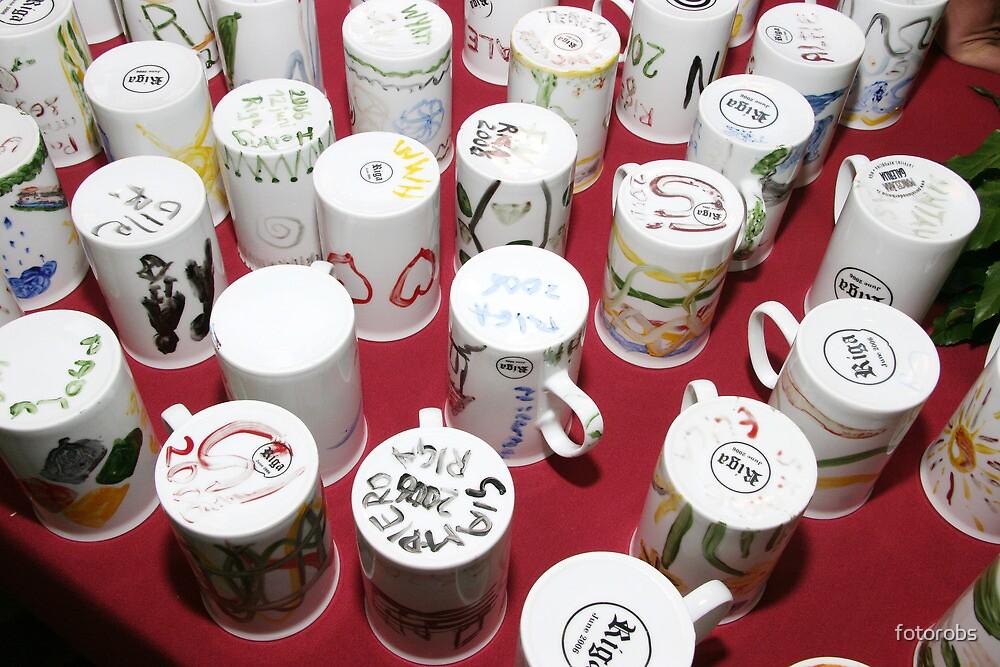 Painting jugs. by fotorobs
