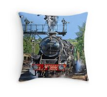 Just Leaving Throw Pillow